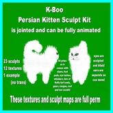k-boo persian kitten sculpt kit
