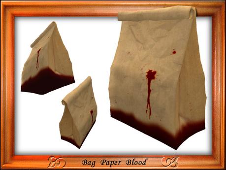Bag Paper WearType Blood sculpture