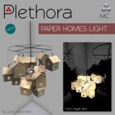 Plethora - Paper Homes Light
