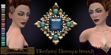 Eclectica 'Blenheim' Baroque Brooch