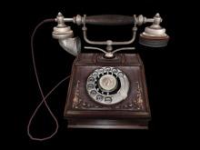 Old Vintage Telephone - Full Perm