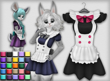 Kemono Maid Dress - 3 Chest Sizes - 25 Colors