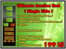 Use for ALL Breedables ! -Auction Hud - Ultimate Edition ( Single Side ) v2.0