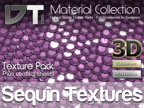 Sequin Textures - Full Perm - DT Material Collection