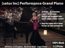 [satus Inc] Performance Grand Piano