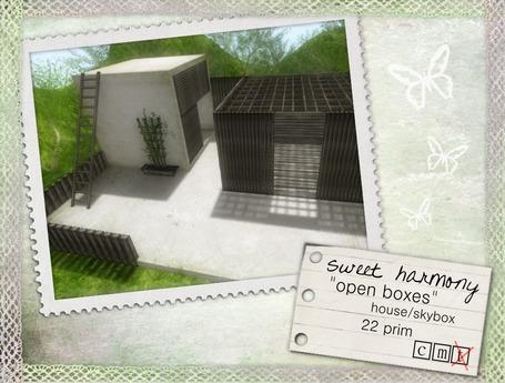 sweet harmony - open boxes
