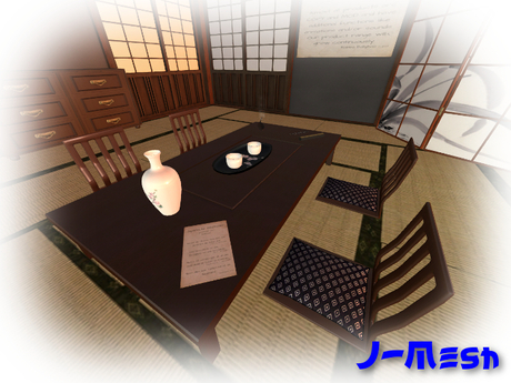 Table Japanese Style 01