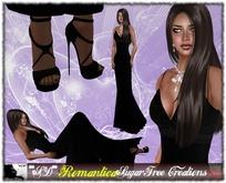 **SD** -Romantica-( Mesh Outfit ) Gran Gala- Black