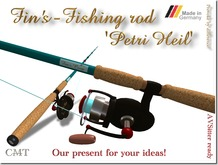 Fin's - Fishing Rod 'Petri Heil'