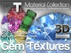 60 Gemstone Textures - Full Perm - DT Material Collection
