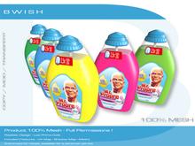 BWish - Liquid Dish Bottles 5 Colors Mesh Full Permissions