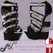 Sky - Wilda Wedge Shoes Black