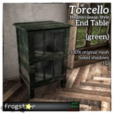 Frogstar - Torcello End Table (Green)