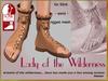 DEMO Bliensen + MaiTai - Lady of the Wilderness - Sandals for Slink flat - for women