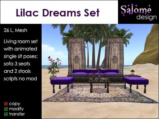 Lilac Dreams - Living Room Set