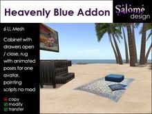Heavenly Blue - Living Room Set - Addon