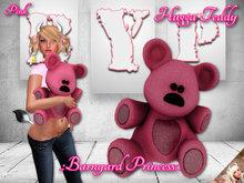 .:Clearance:. Hugga Teddy ~ Pink (crate)