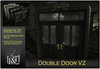 [L&T] - Double Door V2 (Mesh) Realistic 3D Design, 4 Different Color