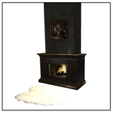 Steampunk Aether Fireplace and Deco - Belle Belle Furniture