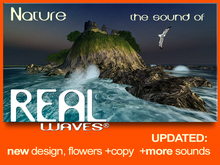 "Beach environmental pack OFFER: Waves ""Sound Of Nature!"""