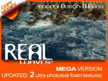 REAL Waves - model Ocean Wave ALL MEGAPRIM versions