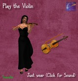 Play the Violin with animated sound gives bow(boxed)