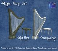 Christmas Harp annimated with Christmas music (Boxed)