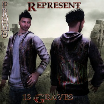 "13 Graves Mesh Hoodies ""Represent""(Boxed)"