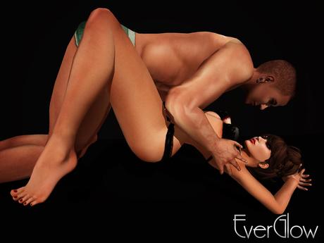 *EverGlow* - Free Couple Pose #2