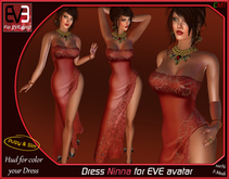 """*!* Dress Ninna for EVE """"for all version Pulpy & Slim """""""