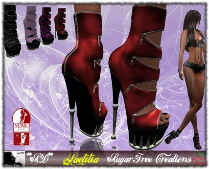 **SD** -Laetitia ( mesh boots) SLINK  -High shoes - Multicolor 1.0