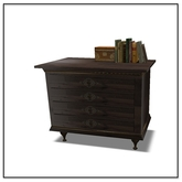 Steampunk Aether Dresser with deco - Belle Belle Furniture