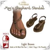 [DDD] Men's Shepherd's Sandals - Lt. Brown