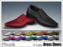 [Phunk] Mesh Dress Shoes (12 Colors)