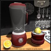 Special offer Marketplace !! Follow US !! Lemon juicer (red)