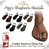 [DDD] Men's Shepherd's Sandals - DEMO