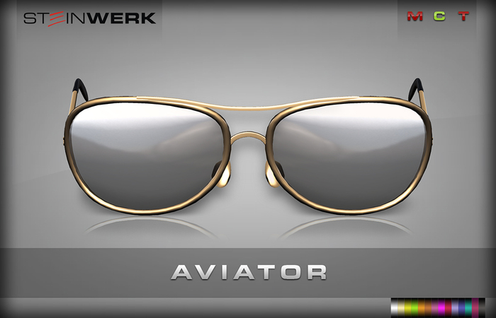 [SteinWerk] - Aviator Sunglasses