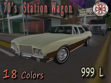 [AIKIOTO] 70's Station Wagon (BOX)