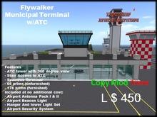 Flywalker Municipal Terminal w/ATC (BOXED)