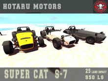HOTARU MOTORS - Super Cat S7  Set [BOX]