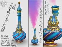 R(S)W Genie Bottle 2 - Blue