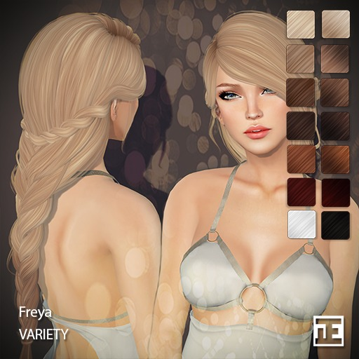 TRUTH HAIR Freya (Mesh Hair) - variety