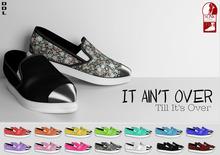 [DDL]  It Ain't Over Til It's Over (White) (for Slink Feet Female Flat)