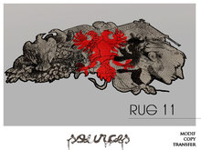 """""""RUG 11"""" BAROC Eagle Red (1+1) by """"Sources""""  PG - MESH/PRIM - BOX - Copy and Modify"""