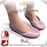 [DDD] Lady's Slippers - Pink
