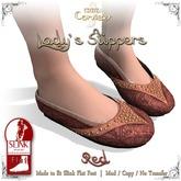 [DDD] Lady's Slippers - Sienna