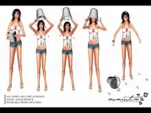:: momentum :: ice bucket challenge :: pose pack