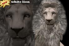 Box Complete Avatar White Lion *Mesh*