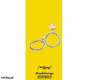 [94Gypsy] Ursula Earrings - Silver