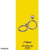 [94Gypsy] Ursula Earrings - Steel
